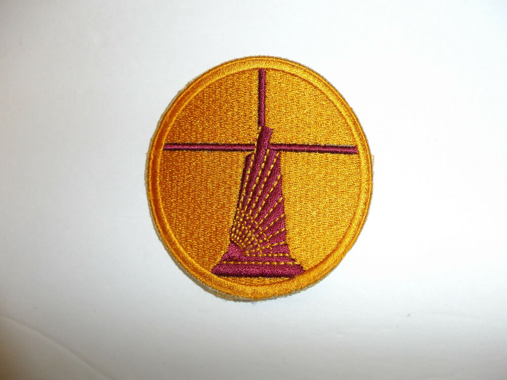 WWII Theater Made Bullion USAAF Air Ferry Command Patch