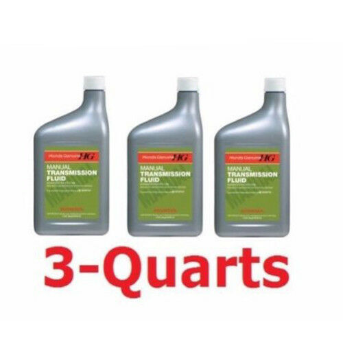 3 quarts genuine honda manual transmission fluid acura new