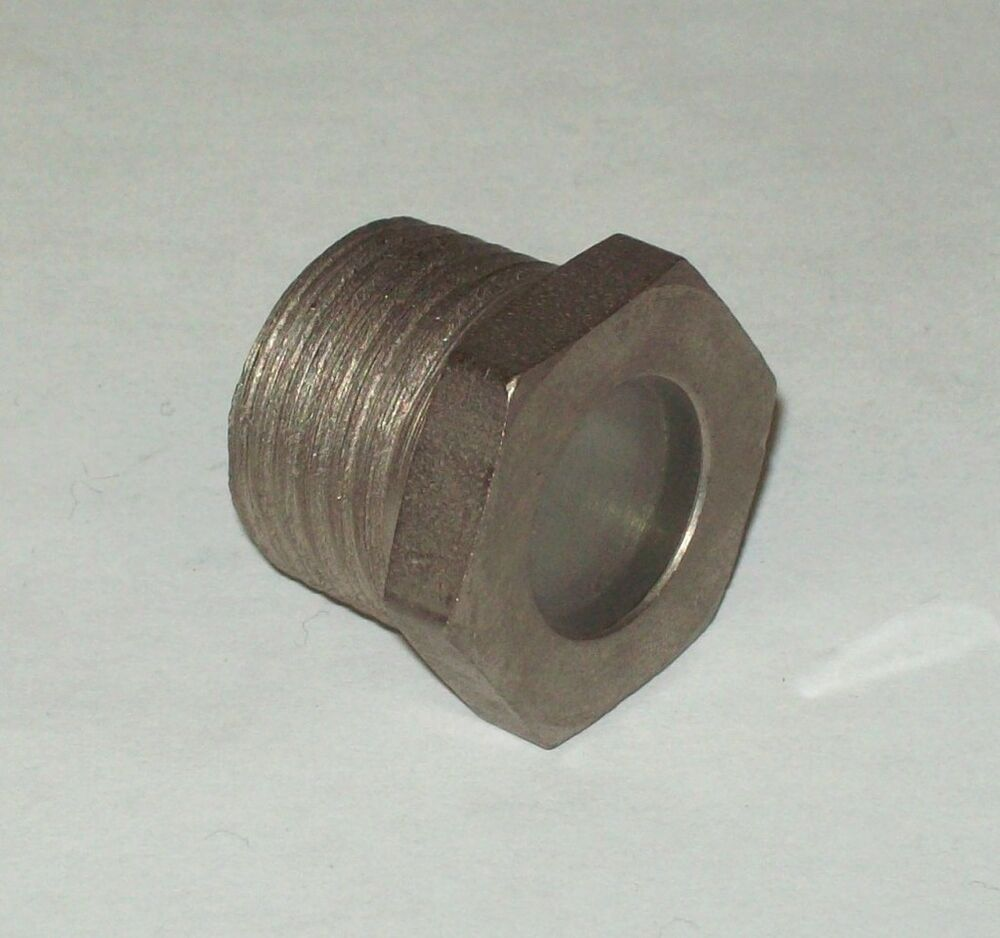 Lube devices high pressure fused quot npt sight check plug