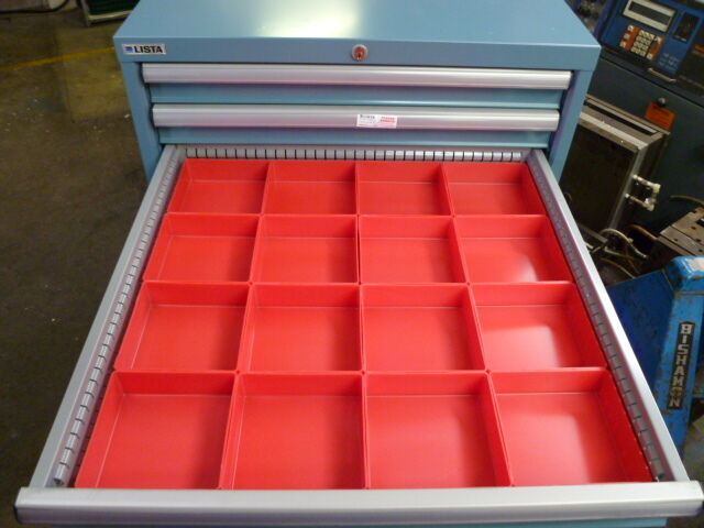 "16 6""x6""x2"" tool organizer trays toolbox dividers cups fit lista ..."