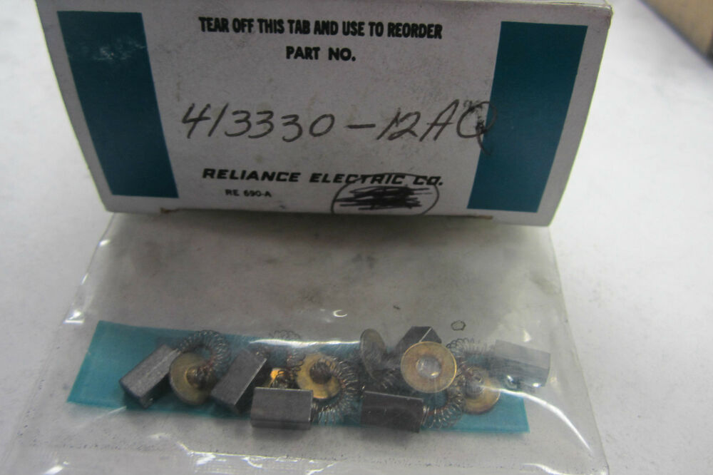 6 new reliance electric 413330 12aq tachometer motor brush for Tachometer for electric motor