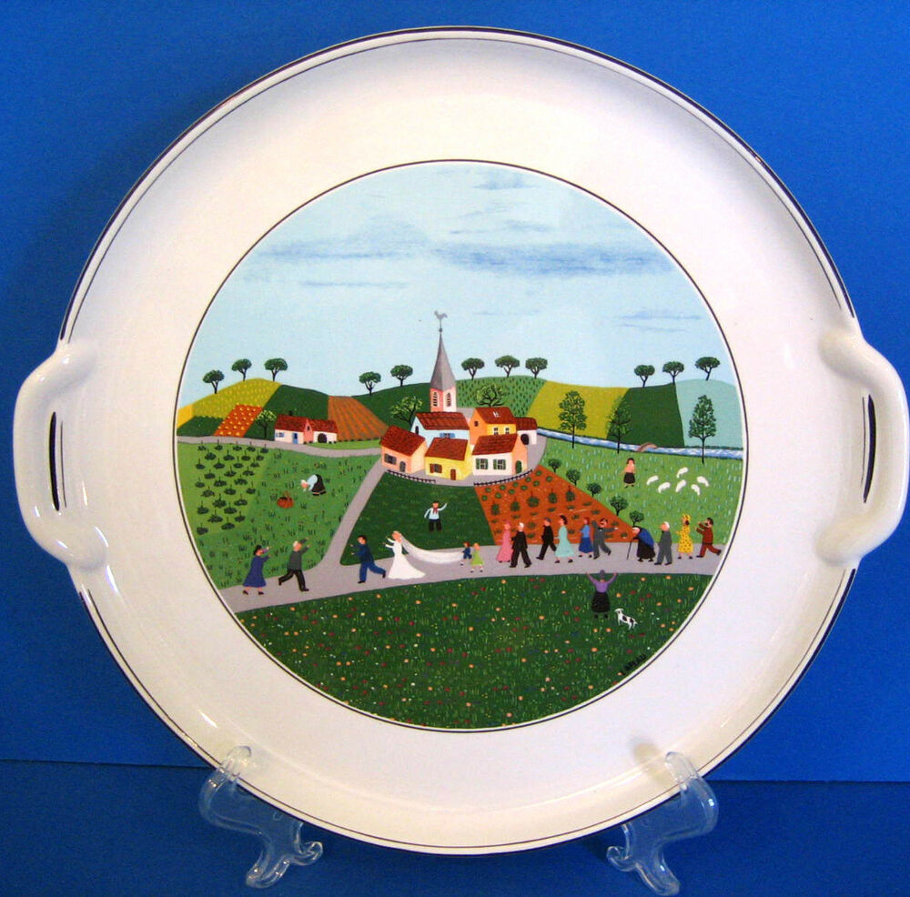 Villeroy boch wedding march cake plate laplau naif for Villeroy boch naif