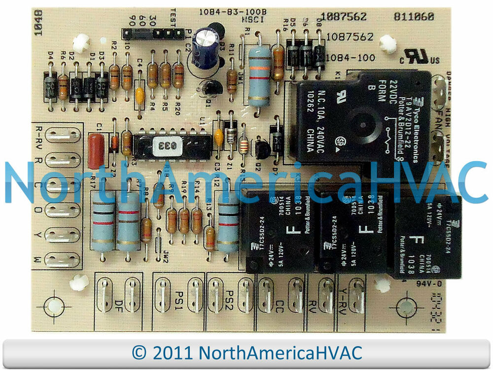 Oem Honeywell Heat Pump Defrost Control Circuit Board 1084