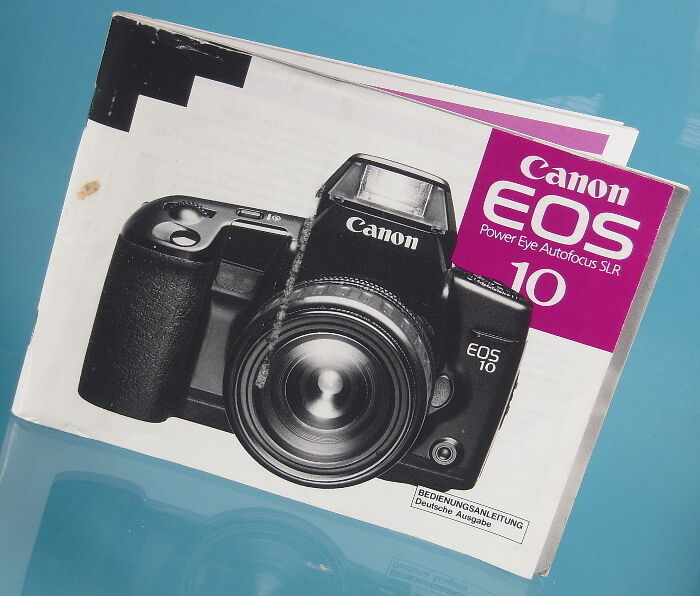canon eos 10 power eye autofocus slr anleitung manual mode