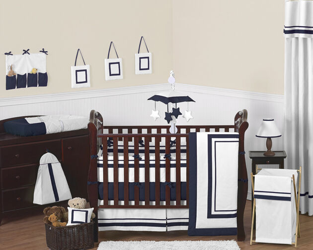 Contemporary Modern Navy And White Discount Cheap Baby Boy