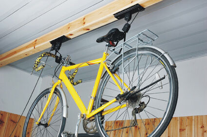 New Bicycle Cycle Bike Storage Ceiling Mount Garage Shed