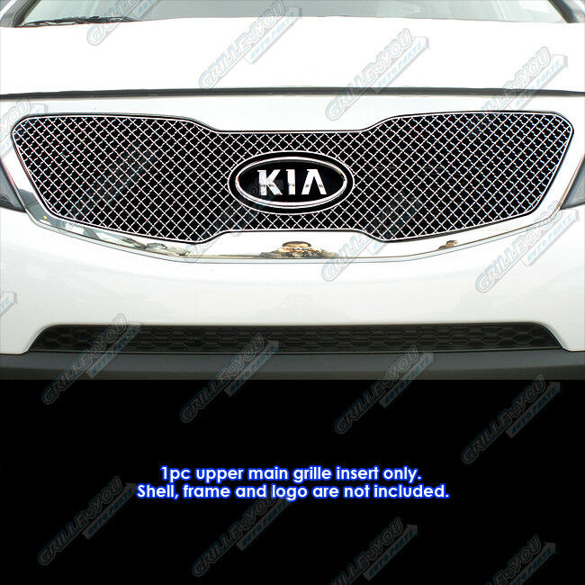 2011 Kia Sorento Accessories: Fit 2011-2013 Kia Sorento Stainless Steel Micro-Frame