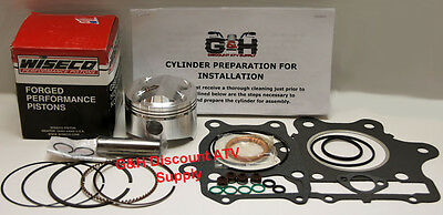 Honda Atv TRX250X 250X Fourtrax Top End Rebuild Kit Machining Service WiseCo ATV