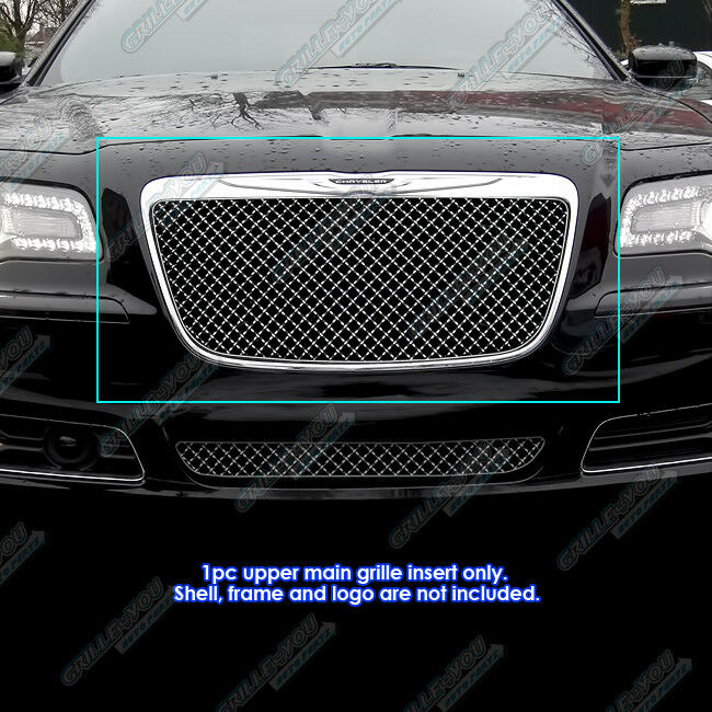 2011 2014 Chrysler 300 300c Fog Light Stainless Steel Mesh: Fits 2011-2014 Chrysler 300/300C 4mm Stainless Steel Wire