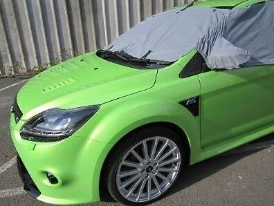 new car windscreen window mirror snow ice frost winter protection cover ebay. Black Bedroom Furniture Sets. Home Design Ideas