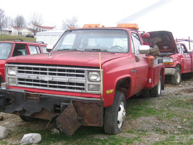 4x4  At Transmission  Th400  1986 Chevrolet C30 6 2l Diesel 4wd   6450