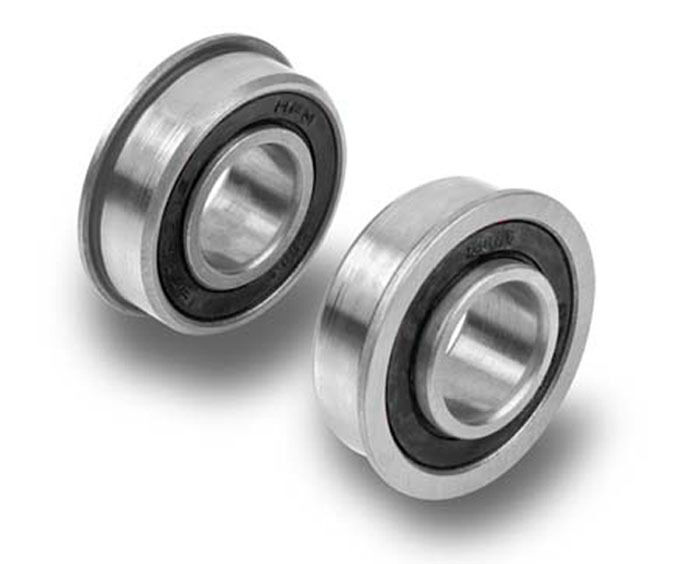 Lawn Tractor Front Wheel Hub : Two quot hd precision ball bearings for lawn garden