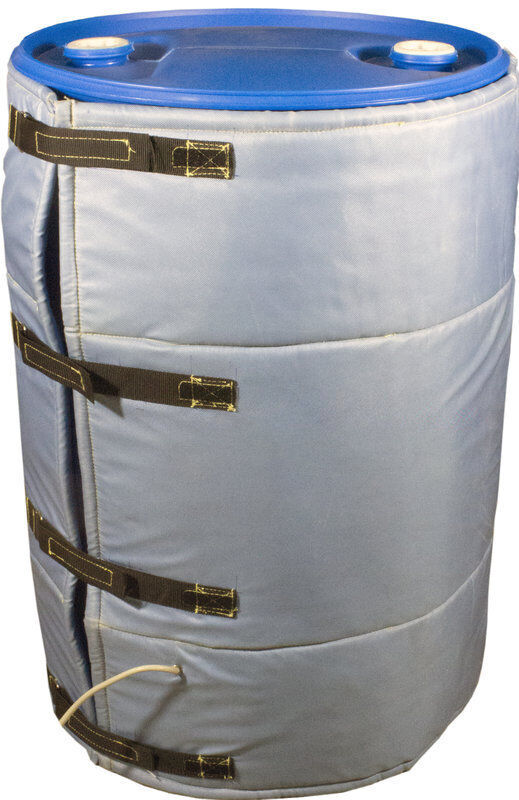 Insulated Blanket Drum Heater For 55 Gallon Barrels