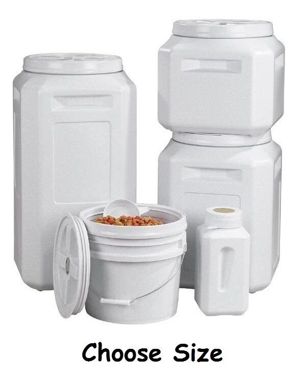 Sealed Containers For Dog Food