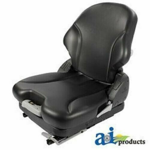 Tractor Seat Grammer Ds44 Cushions : Msg blv grammer seat blk vinyl fits several ebay