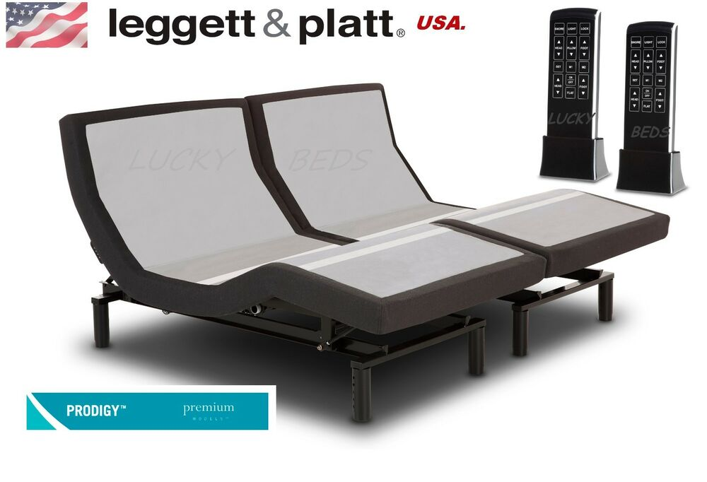 Leggett Platt Prodigy Split King Adjustable Bed Base
