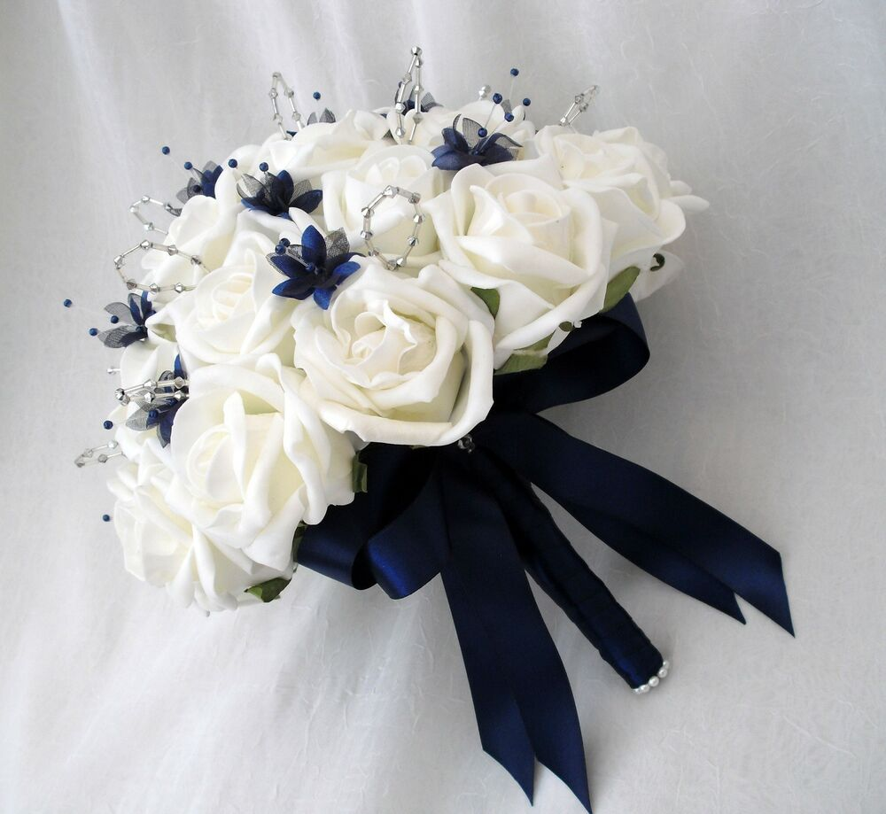 WEDDING FLOWERS SPECIAL ORDER FOR EMMA BRIDES BOUQUET POSIES