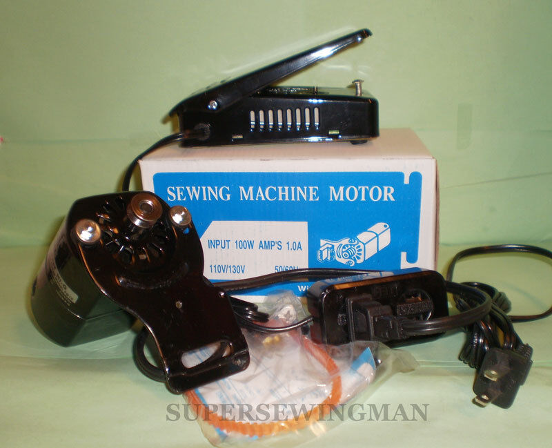 home sewing machine motor and pedal for singer ha1 66 99k
