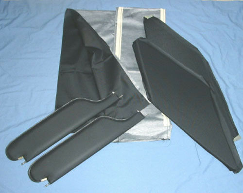 1966 67 Gto New Sun Visors Amp Headliner Black Perforated Ebay