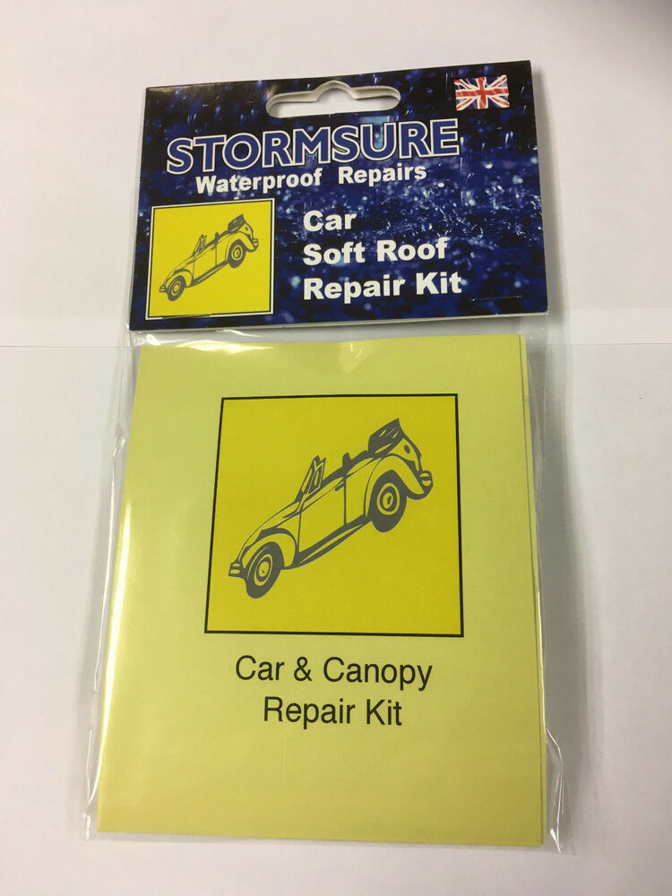Stormsure Car Soft Top Roof Amp Hood Repair Kit Incl Mini 5g