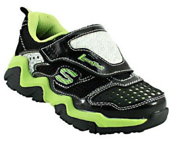 skechers s lights luminators boys youth light up athletic shoes. Black Bedroom Furniture Sets. Home Design Ideas