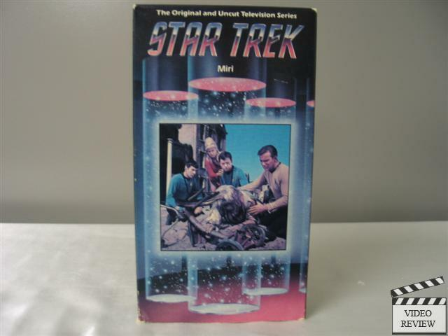 star trek miri vhs william shatner  leonard nimoy home vhs home_csc vs csc