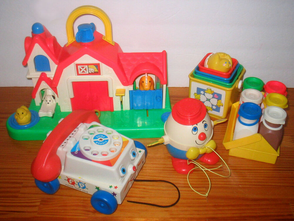 Classic Vintage Fisher Price Baby Toddler Toys | eBay