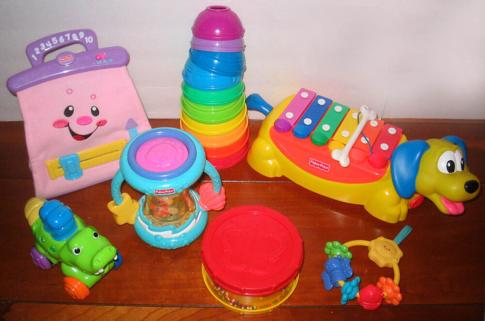 FISHER PRICE INFANT / TODDLER TOY LOT | eBay