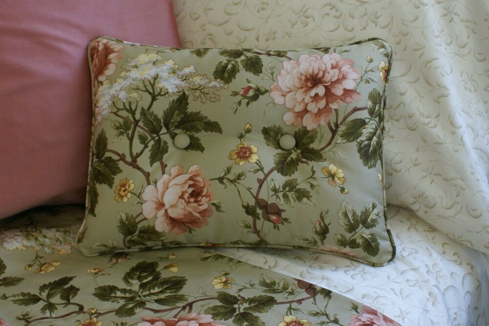 New Custom Ralph Lauren Yorkshire Rose Floral Accent