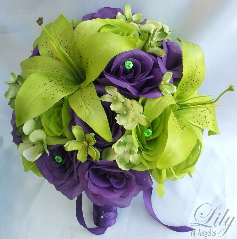 Green flowers bouquet