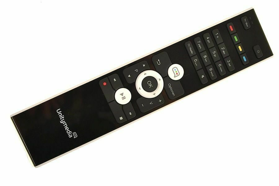 original fernbedienung f r unitymedia hd recorder ebay. Black Bedroom Furniture Sets. Home Design Ideas