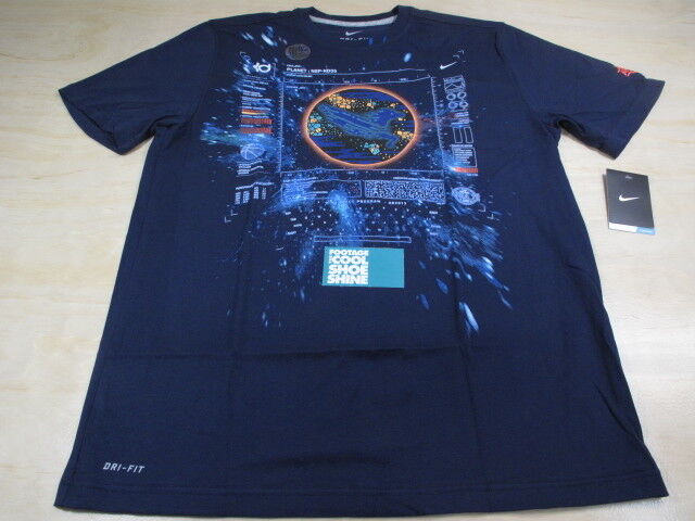 Nike asg area 72 galaxy raygun kevin durant kd v 5 dri fit for Kd t shirt nike
