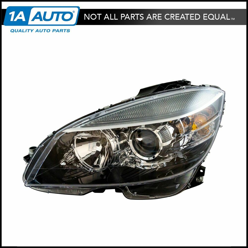 Halogen Headlight Headlamp Driver Side Left Lh New For Mercedes Benz Mb C Class Ebay