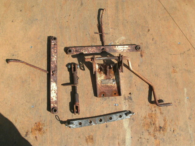 Sears Garden Tractor 3 Point Hitch : Sears garden tractor three point hitch lift assembly