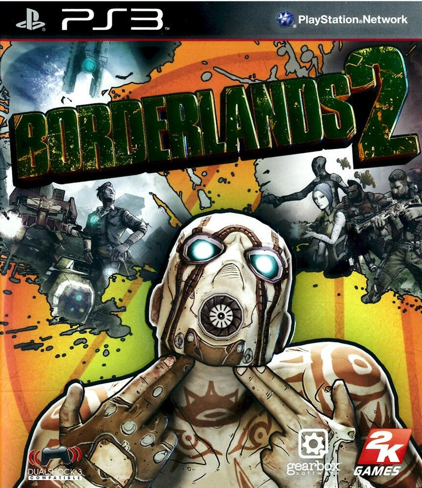 New Playstation 3 Games : Ps borderlands for region free sealed new