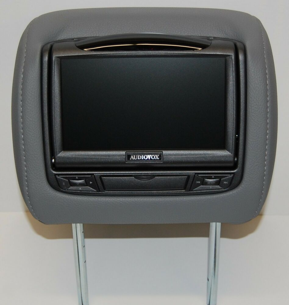 toyota sequoia dual dvd headrest video players monitors. Black Bedroom Furniture Sets. Home Design Ideas