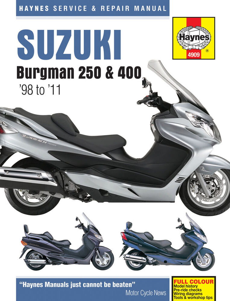 Suzuki Burgman Owners Manual
