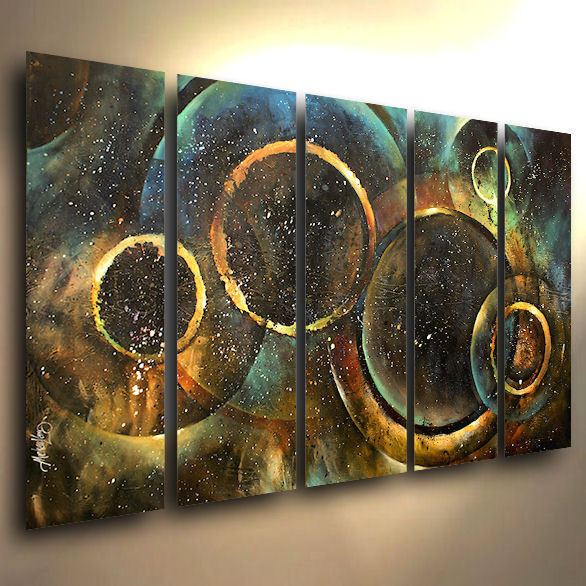 Abstract Painting Modern Art Contemporary Art Deco Mix