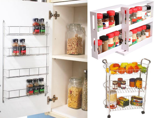 tiered spice racks for kitchen cabinets swivel cabinet organiser 4 tier wall spice rack 9463