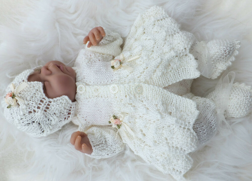 Knitting Patterns For Premature Babies : KNITTING PATTERN (INSTRUCTIONS) TO MAKE BLESSINGS. SETS ...