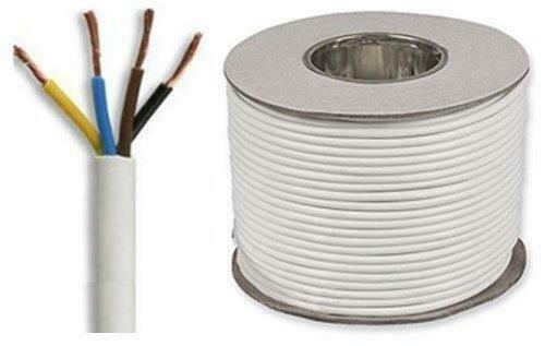 white round flexible cable 3184y 4 core 6 amp 1mm. Black Bedroom Furniture Sets. Home Design Ideas