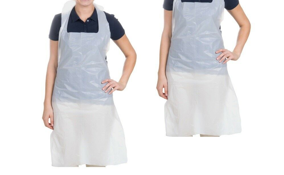 10 Disposable Nurse Aprons Whelping Childrens Parties