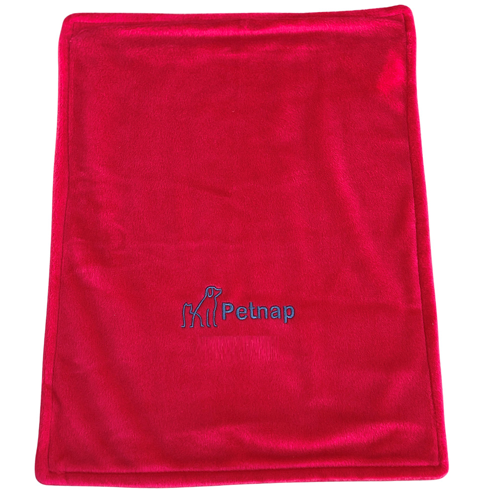 Spare Red Cover For Petnap Vinyl Cat Or Dog Heat Pad Size