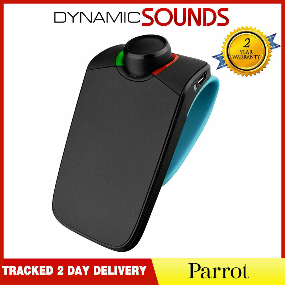 parrot minikit neo voice controlled portable bluetooth handsfree car kit ebay. Black Bedroom Furniture Sets. Home Design Ideas