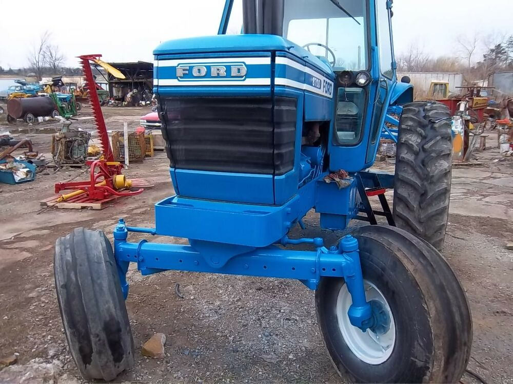 Ford 8700 Tractor : Ford tractor with cab diesel pto heater ebay