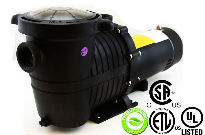 Energy efficient variable speed 1 hp swimming pool pump for 1 2 hp pool motor