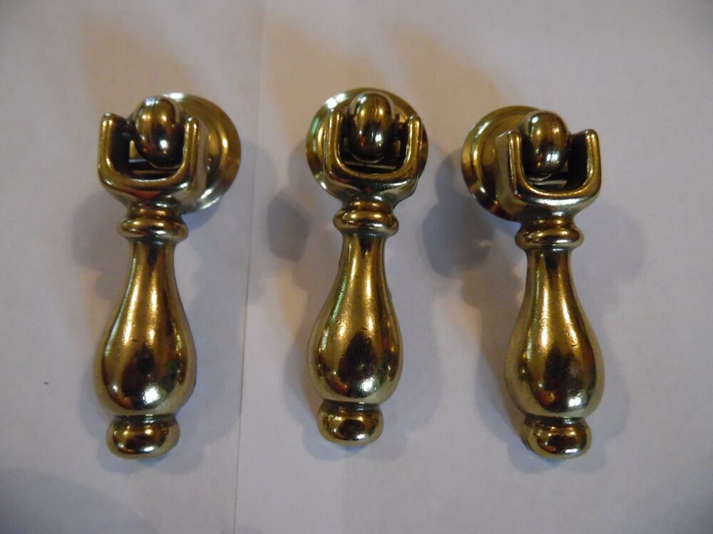 New, Metal, Brass, Cabinet, Dresser, Desk Pendent Pulls for Drawers/Doors | eBay