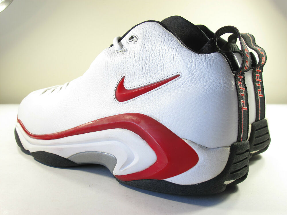 DS NIKE 1998 AIR PIPPEN II OG RED 18 VINTAGE ZOOM FLIGHT ...