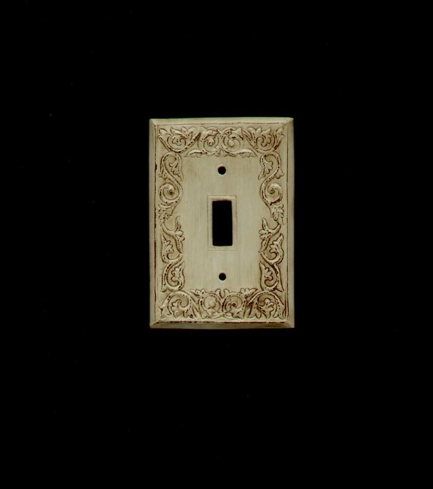 Antique Ornate Light Switch Plate 1 Switch S 1 Ebay