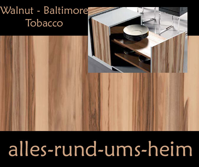 klebefolie walnuss baltimore tobacco holz folie selbstklebend m bel neu ebay. Black Bedroom Furniture Sets. Home Design Ideas